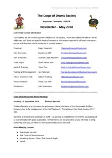 CoDS Newsletter May 2018
